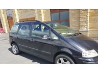 Volkswagen Sharan 7 Seater 1.9 TDi Automatic Diesel Black 2006