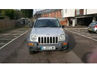2003 Jeep Cherokee ,long MOT average milage ,clean for the year.