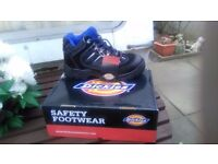 Dickies black/blue safety trainers sizes 7,9 and 11 new in box £20 collect