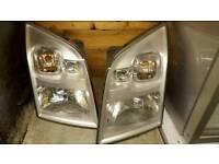 Ford Transit Headlights