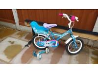 Girls Bike 14inch 3-5years