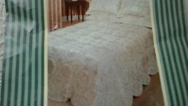 Double Throwover Bedspread