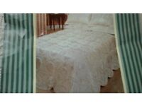 Double Throwover Bedspread