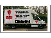 Man and Van and International services LONDON.