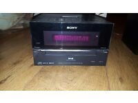 Sony Hifi and Speaker Full System - CD FM Radio DAB iPod Dock - HCD-BX77DBi RRP £150
