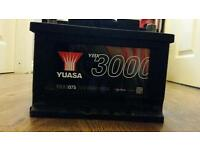 Brand new Yuasa 075 Car Battery