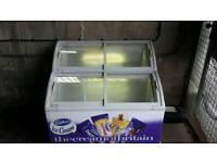 Double freezer ice creams