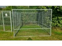 Dog pen only 5months old fully galvanised £180