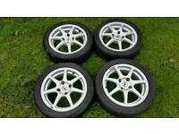 """15"""" Alloy Wheels and tyres 4x108 Ford"""