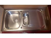 Brand new boxed sink