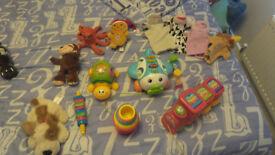 Bundle of Toys and Teddies