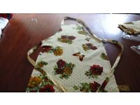 Job Lot - 72 Yellow Flower Cooking Aprons