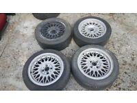 Bmw E30 alloys wheels 4x100 BBS OEM