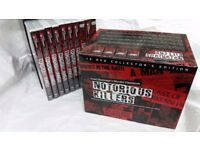 Fred Dinenage's Murder Casebook Notorious Killers. 10 Disc Box Collector's Edition.