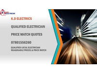QUALIFIED ELECTRICIAN SPECIAL RATES AND PRICE MATCH