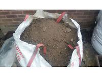 1 tonne top soil Free
