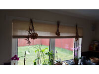 Natural rollup window blind
