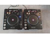 2x Pioneer CDJ 1000 CDJ1000 Mk3 + Numark Mixer