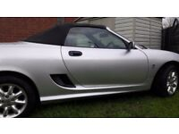 MG tf Only 35,000 genuine miles. 12 months mot with No Advisories. 5 new tyres. Only 2 Owners!!!