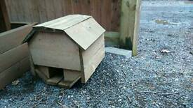 SOLD subject to collection Hedgehog house for garden