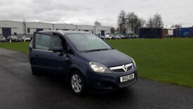 Vauxhall Zafira 1.8i VVT 16v Design 5dr 2012