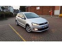 Volkswagen Polo 2013 Diesel 1.2 TDI Match Edition 3dr Hatchback with Bluetooh parking sensors