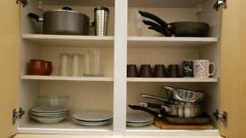 Kitchenware to go by Sunday 19th