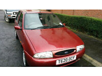 Ford Fiesta Zetec 1999 (Spares or Repair) 91K miles £300 ONO