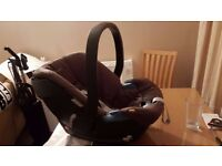 Cybex Aton car seat/carrier with no wear and user manual