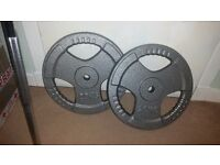 20kg Weight plates and 5ft Barbell - Bargain