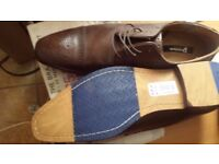 Brown Dune shoes size 12 brand new £50