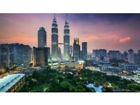March Return Flight Tickets from London Heathrow to Kuala Lumpur