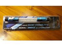 Bike Light - Blue Fibre Flare Shorty Light