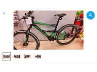 Land Rover dynamic mountain bike
