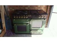 Rangemaster all electric double oven