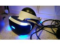 PSVR with camera and 3 games | PlayStation VR