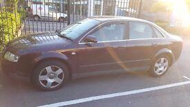 Audi A4 2.5 TDI SE 2002 SPARES or REPAIR Long M.O.T