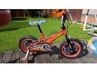 Childs 'Cars' bike