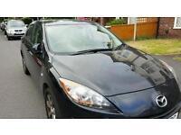 Mazda 3 TS2, 1.6 Petrol, Black, FSH (Mazda), 59k, Cruise, SatNav, Bluetooth