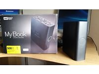 For Sale - Western Digital My Book 500gb External Hard Drive