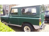 Land Rover Series 3 Short Wheel Base diesel. Galvanised Chassis.