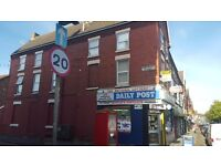 shared flat in the heart of a popular busy area aigburth road (4 rooms available )