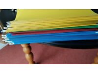 Hanging Files and tabs