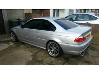 2004 BMW 320CI SPORT COUPE SILVER