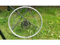 """Alex dh20 26"""" mountain bike disk front wheel"""