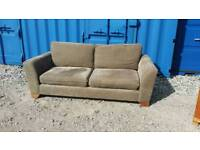 Brown Jumbo Cord 3 seater modern sofa, great conditìon, CAN DELIVER