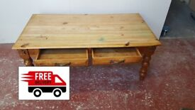 Oak Coffee table (delivered free)