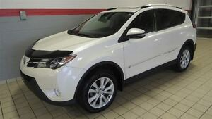 2013 Toyota RAV4 LIMITED NAV-TOIT OUVRANT-CUIR-MAGS