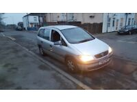 Vauxhall Zafira / 7 seaters / Diesel / M.O.T JULY / READY TO GO ! BARGAIN Only 425 !!