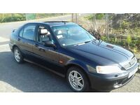 honda civic vti-s mb6 pirates black vtec b18 dohc not type r or ek